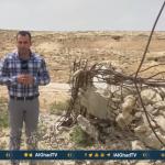 فيديو| الاحتلال يخطر عائلات فلسطينية بهدم منازلهم جنوب الخليل