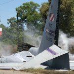تحطم طائرة عسكرية أمريكية في ولاية جورجيا