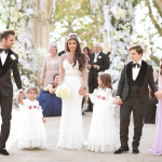 صور| سيسك فابريجاس يتزوج من اللبنانية دانييلا سمعان بحضور أبنائها الخمسة