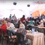 فيديو| آلاف المسلمين يشاركون في الخيمة الرمضانية بموسكو