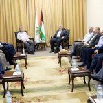 «حماس» و«الشعبية» تتفقان على مواصلة الجهود لعقد مجلس وطني
