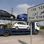 الاحتلال يمنع إدخال السيارات إلى غزة