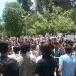 الأردنيون يتظاهرون تضامنًا مع الشعب الفلسطيني