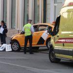 خروج مصابي حادث السيارة الأجرة من المستشفى في موسكو