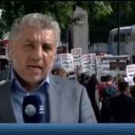 فيديو| مراسل الغد: تظاهرة أمام مقر الحكومة البريطانية للتنديد بزيارة نتنياهو