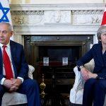 ماي تبلغ نتنياهو بقلق بريطانيا من استهداف المتظاهرين في غزة