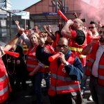 نقابة عمالية في فرنسا تتعهد بمواصلة إضرابات السكك الحديدية