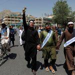 صور| مسيرة سلام تصل إلى كابول والمشاركون يقولون إن الناس تعبوا من الحرب