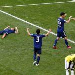 اليابان تهزم عشرة من لاعبي كولومبيا في انتصار تاريخي لآسيا