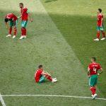 المغرب أول فريق يودع كأس العالم بعد الخسارة بهدف رونالدو