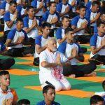 صور| الآلاف يشاركون رئيس وزراء الهند في إحياء اليوم العالمي لليوجا