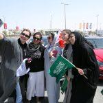 سائقات للمرة الأولى بعد رفع الحظر عن قيادة النساء بالسعودية