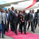 إثيوبيا تستقبل بالورود أول وفد إريتري يزورها منذ الحرب