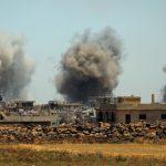 فيديو| مراسل الغد: الجيش السوري يبدأ عمليات جوية ومدفعية جنوب شرق درعا