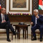 الأمير وليام يلتقي مع الرئيس الفلسطيني في الضفة الغربية