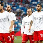 بعد غرامة الفيفا.. ثنائي سويسرا في التشكيلة الأساسية ضد كوستاريكا