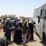 نحو 25 ألف شخص نزحوا من أعمال العنف في شرق سوريا