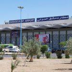 مطار دمشق يستأنف الرحلات التجارية بعد توقف 6 أشهر بسبب كورونا