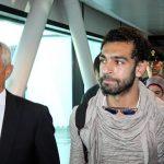 محمد صلاح يغادر القاهرة في طريقه إلى بيروت