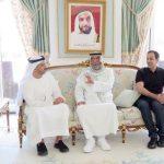 فيديو| الشيخ خليفة بن زايد يتقبل التهاني والتبريكات بمناسبة الشهر الفضيل