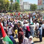 إدانة فلسطينية للاعتداء على حراك الأسرى في غزة
