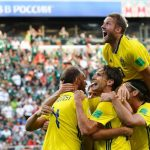السويد تهزم المكسيك 3-صفر وتصعدان سويا لدور 16 في كأس العالم