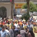 فيديو  مراسل الغد: وقفة برام الله تندد باغتيال المسعفة رزان النجار في خان يونس