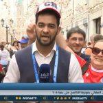 فيديو| فرحة عارمة في شوارع روسيا بعد مباراة إنجلترا وبنما