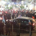 ادانه فلسطينية واسعه لاعتداء الأمن على المتظاهرين برام الله