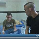فيديو| ظلام سجون الاحتلال تفقد الطفل الفلسطيني حسان التميمي بصره