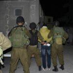 جيش الاحتلال يعتقل 38 فلسطينيا في الضفة الغربية