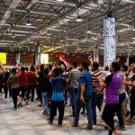 عودة الرحلات الجوية في مطار النجف بعد انسحاب المتظاهرين