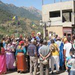 مئات الفنانين يشاركون في مهرجان بقرية جزائرية عانت ويلات الحرب الأهلية