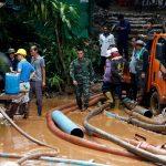 فرق إنقاذ تايلاندية تعثر على 13 مفقودا في كهف ومؤشرات على أنهم أحياء