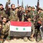 الجيش السوري يستهدف فصائل مسلحة بين مدينتي أعزاز وعفرين