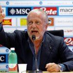 كورونا يقلق رئيس نابولي من اللعب في برشلونة