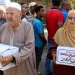 الجيش المصري يوزع حصصا غذائية بنصف الثمن بمناسبة عيد الأضحى