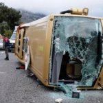 استقالة ثلاثة وزراء في بلغاريا على خلفية حادث انقلاب حافلة أوقع قتلى