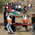 إصابة 180 فلسطينيا برصاص الاحتلال على حدود غزة