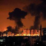 إصابات في القصف الإسرائيلي على قطاع غزة