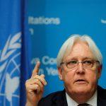 جريفيث يبحث مع قادة ميليشيا الحوثي فرص عقد مفاوضات سلام
