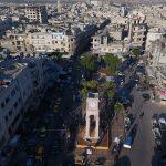 طائرات حربية تقصف إدلب بسوريا