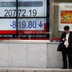 نيكي ينزل من أعلى مستوى في 4 أسابيع وسط جني أرباح للأسهم المرتبطة بالصين