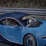 فيديو  بوجاتي شيرون.. مليون قطعة ليجو لتصميم سيارة بوجاتي الجديدة
