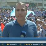 فيديو| مراسل الغد: وقفة لطلاب المدارس بمخيم الأمعري احتجاجا على قطع تمويل الأونروا