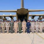 القوات السعودية تصل إلى مصر للمشاركة في تمرين «درع العرب 1»
