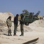 تعزيزات في صفوف مسلحين سوريين مدعومين من تركيا حول منبج