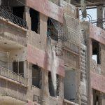 الصليب الأحمر: دمار هائل في الغوطة الشرقية قرب دمشق