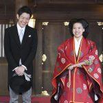 الأميرة اليابانية أياكو تتخلى عن لقبها الإمبراطوري لتتزوج من العامة