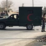 إصابة مسؤولين بانفجار قرب مقر لجنة الانتخابات في كابول